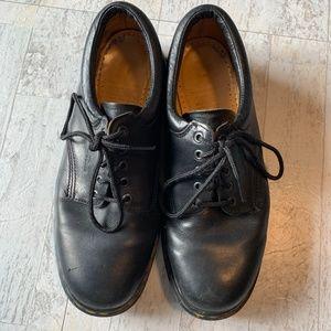 DOC MARTENS Men's Black Lace Up Oxford Dress Shoe